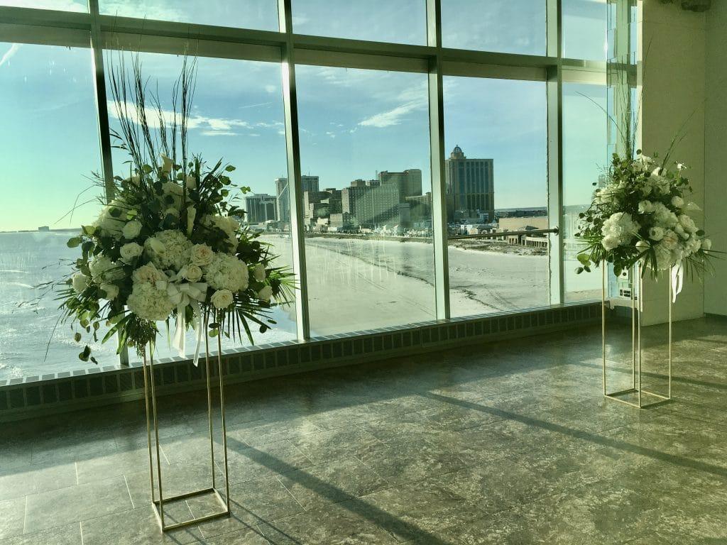 Ceremony with AC beach view 1 1024x768 - Ceremonies