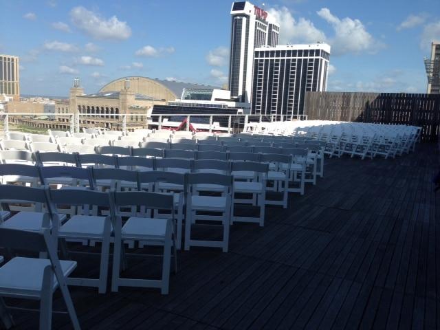 Terrace Wedding for 200 - Ceremonies