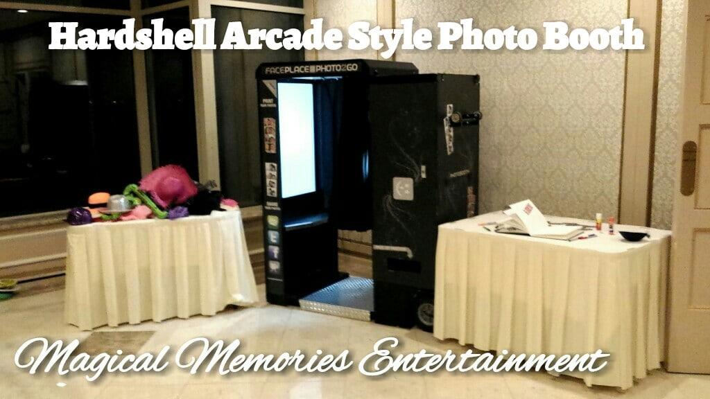 Arcade Style Booth - Magical Memories Entertainment