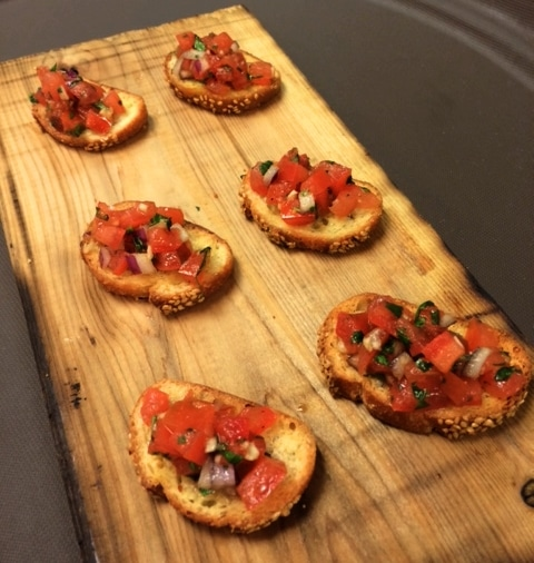 Bruscetta 1 - Butlered Hors d'oeuvres