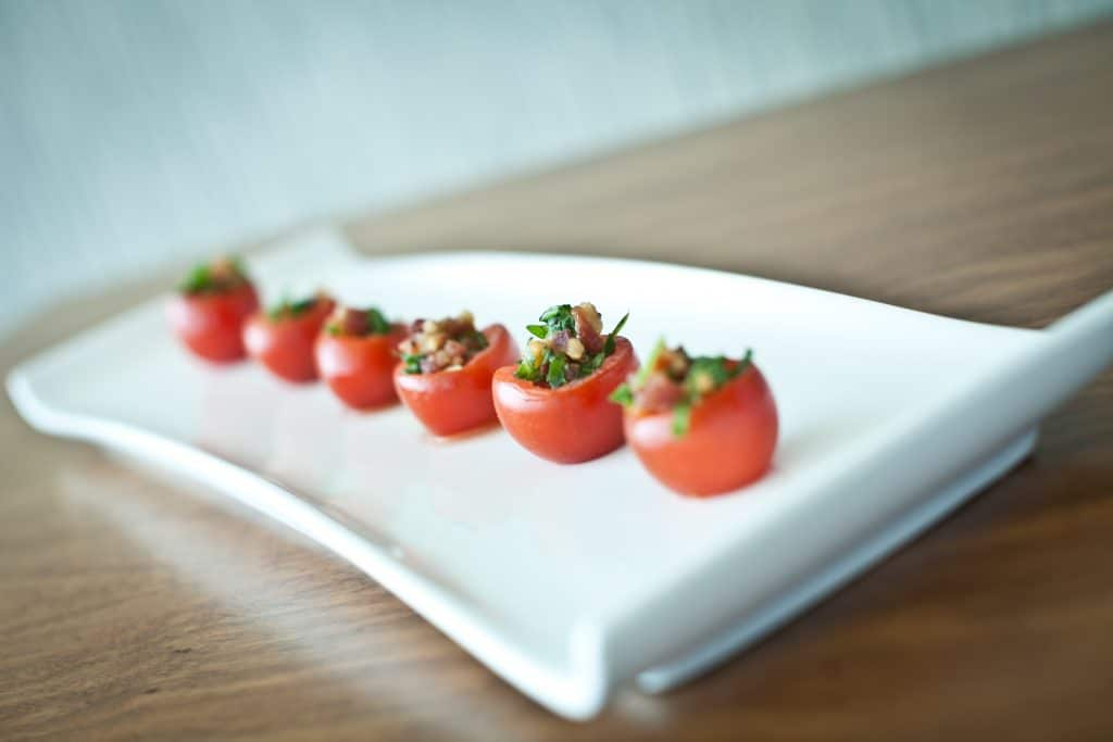 Cherry Tomato BLTs 1024x683 - Butlered Hors d'oeuvres