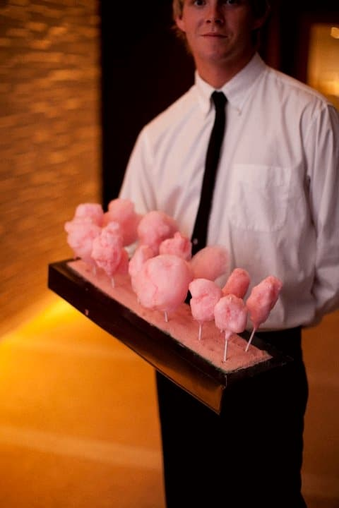 Cotton Candy - Butlered Desserts