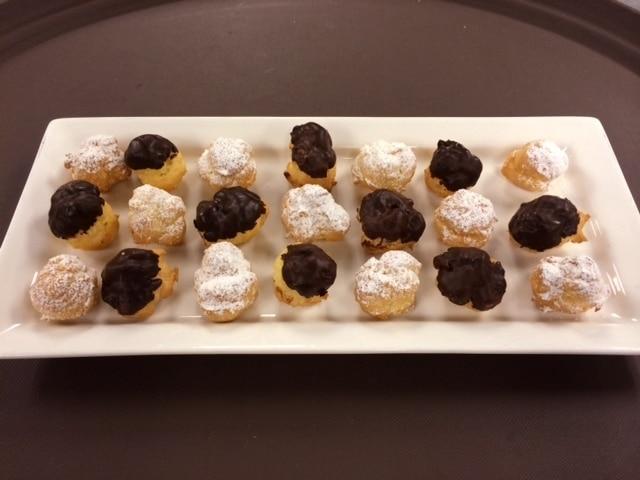 Cream Puffs - Butlered Desserts