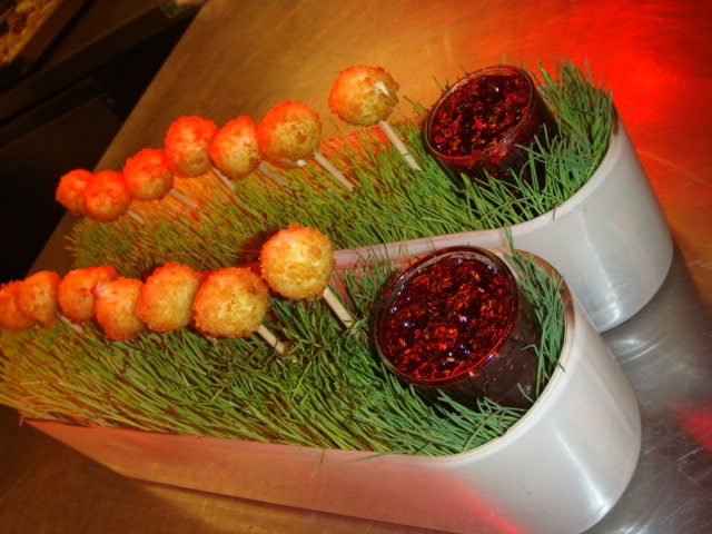 Fried Goat Cheese Balls - Butlered Hors d'oeuvres