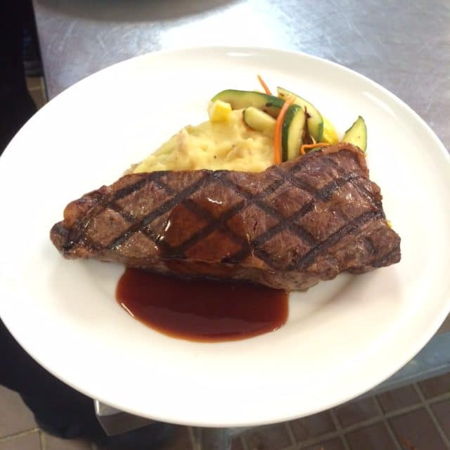Sirloin Steak rotated - Entrees