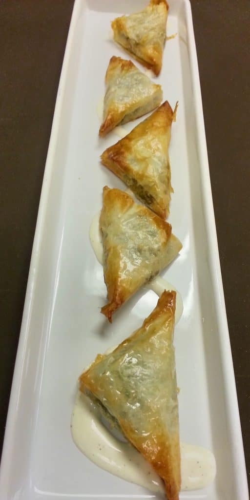 Spanokopita 512x1024 - Butlered Hors d'oeuvres