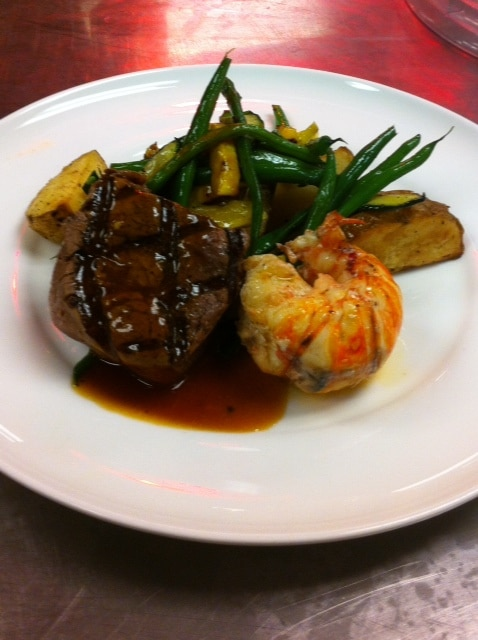 Surf   Turf Entree - Entrees