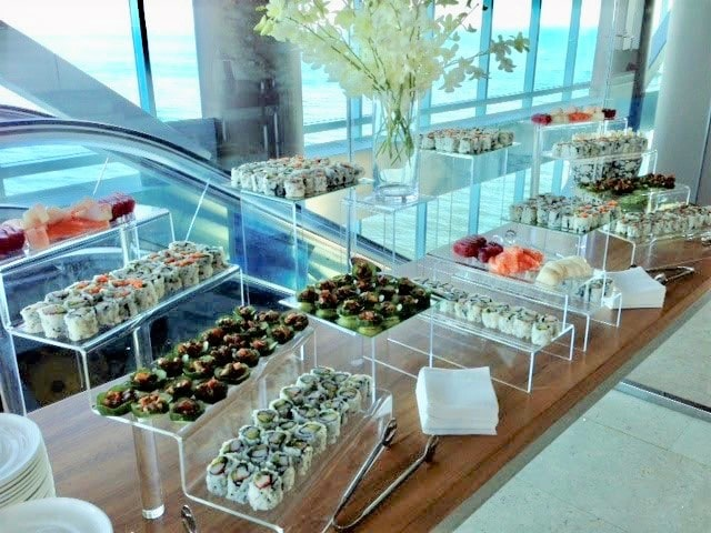 Sushi Roll Display - Stations
