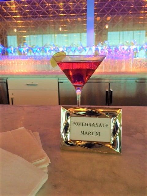 Pomegranate Martini - Bar & Cocktails