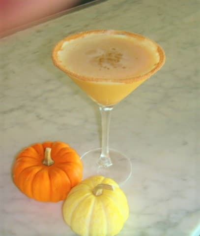 Pumpkin Martini - Bar & Cocktails