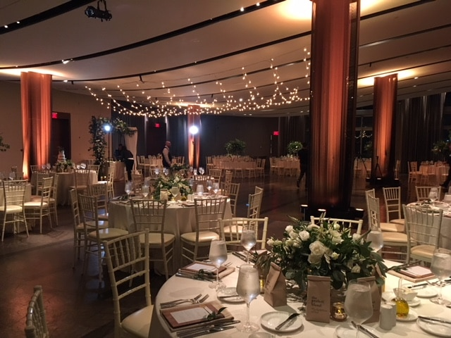 Atlantic room with piazza lighting - Receptions